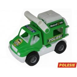 0469 POLESIE WYWROTKA POLICJA GUMOWE KOŁA