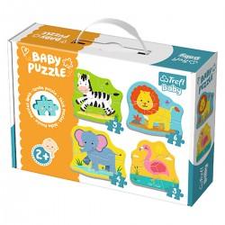 36073 TREFL BABY PUZZLE ZWIERZĘTA NA SAFARI