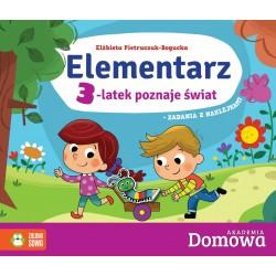 738669 ELEMENTARZ 3-LATEK POZNAJE ŚWIAT