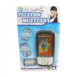 080501 TELEFON ZABAWKA ŚWIATŁO DŹWIĘK