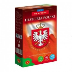005288 ALEXANDER MINI GRA EDUKACYJNA QUIZ HISTORIA POLSKI