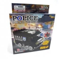 200449 KLOCKI SAMOCHÓD POLICJA 27 EL