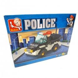 954842 KLOCKI SAMOCHÓD POLICJA 88 EL