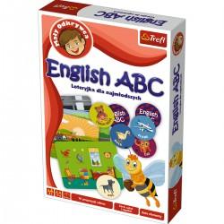 01613 TREFL ENGLISH ABC MAŁY ODKRYWCA UKŁADANKA