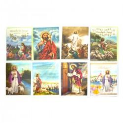 B6Z KARTKA LAURKA ZŁOCONA + KOPERTA WIELKANOC