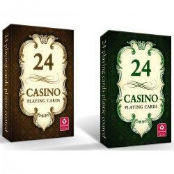 000538 KARTY DO GRY CASINO 24 KARTY 2 RODZAJE