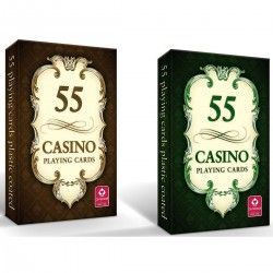 000408 KARTY DO GRY CASINO 55 KARTY 2 RODZAJE