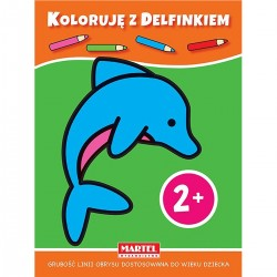 807397 MARTEL KOLOROWANKA KOLORUJĘ Z DEFLINEM 2+