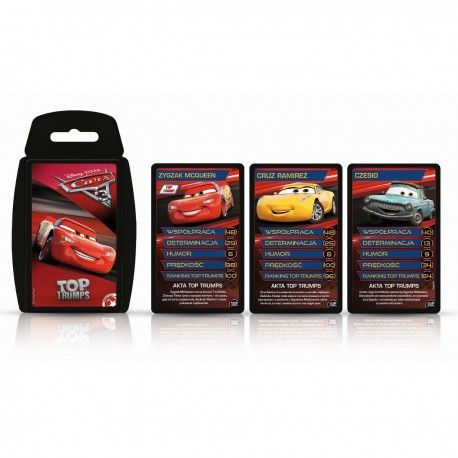 003032 TOP TRUMPS CARS KARTY DO GRY