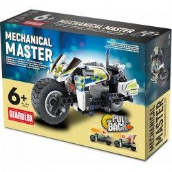 GEARBLOX 755373 KLOCKI TECHNIK MOTOCYKL 193 EL. Z NAPĘDEM