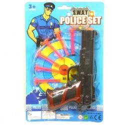 375435 ZESTAW POLICJANTA Z PISTOLETEM