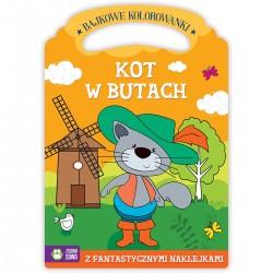 541794 KOLOROWANKA KOT W BUTACH