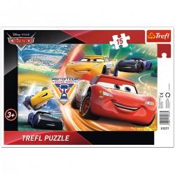 31277 TREFL PUZZLE RAMKOWE 15 CARS 3