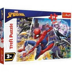 14289 TREFL PUZZLE MAXI 24 EL. NIEUSTRASZONY SPIDER-MAN