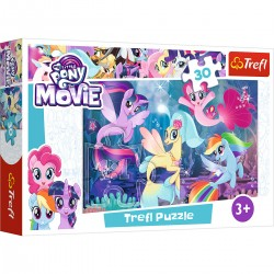 18216 TREFL PUZZLE 30 EL. MY LITTLE PONY DOŁĄCZ DO ZABAWY