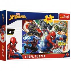 17311 TREFL PUZZLE 60 EL. SPIDER MAN WALECZNY