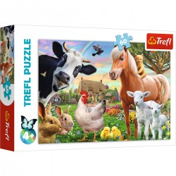 17320 TREFL PUZZLE 60 EL. WESOŁA FARMA