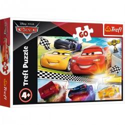 17334 TREFL PUZZLE 60 EL. CARS LEGENDARNY WYŚCIG