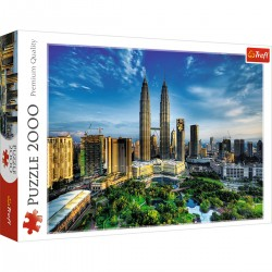 27075 TREFL PUZZLE 2000 EL. PETRONAS TWIN TOWER