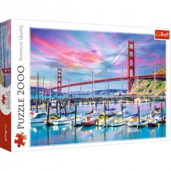 27097 TREFL PUZZLE 2000 EL. GOLDEN GATE SAN FRANCISCO