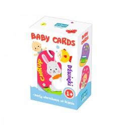 01591 TREFL PUZZLE BABY CARDS DŹWIĘKI