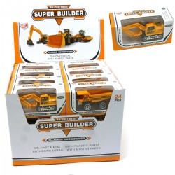 464032 POJAZD BUDOWLANY METALOWY SUPER BUILDER