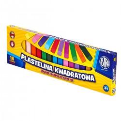030545 ASTRA PLASTELINA 18 KOLORÓW