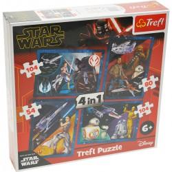 34326 TREFL PUZZLE 4W1 STAR WARS IX