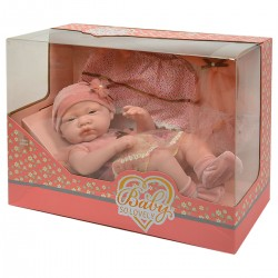 149207 LALKA BOBAS BABY SO LOVELY + UBRAŃKA