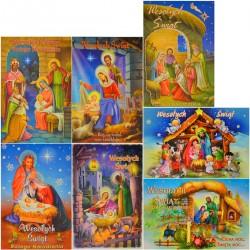 B6B KARTKA LAURKA ŻYCZENIA BOŻONARODZENIOWE