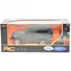 840051 WELLY AUTO LAND ROVER DEFENDER 1:24 NA RADIO
