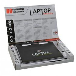 218636 LAPTOP EDUKACYJNY 80 PROGRAMÓW PL USB