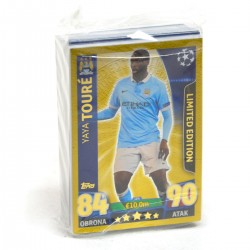 777787 KARTY UEFA CHAMPIONS LEAGUE 70 SZTUK LIMITOWANE ZŁOTE