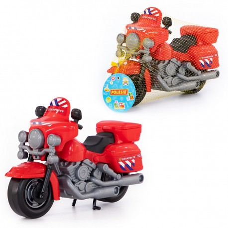 71675 POLESIE MOTOR CHOPPER STRAŻ