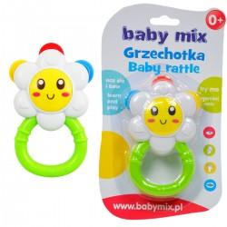 918429 BABY MIX GRZECHOTKA KWIATEK