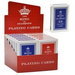 087104 KARTY DO GRY KING 52 SZTUKI