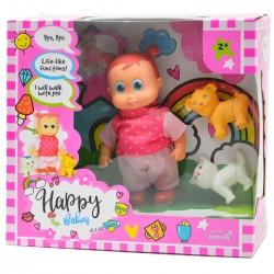 984234 LALKA HAPPY BABIES CHODZĄCA