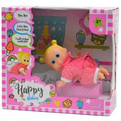 984241 LALKA HAPPY BABIES CHODZĄCA