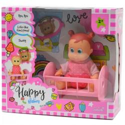 984258 LALKA HAPPY BABIES FUNKCYJNA