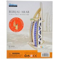 139808 KLOCKI PUZZLE 3D BURJAL-ARAB 27EL.
