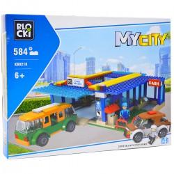 002187 KLOCKI BLOCKI MY CITY MYJNIA