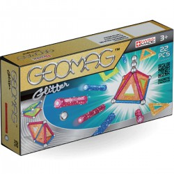 005308 GEOMAG KLOCKI GLITTER PANELS 22 ELEMENTY