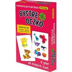 006557 ADAMIGO BYSTRE OCZKO KARTY DO GRY