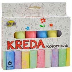 023425 KREDA DO RYSOWANIA KOLOROWA GRUBA