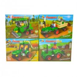 208896 KLOCKI FARMA 4 WZORY