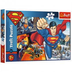 13266 TREFL PUZZLE 200 EL. SUPERMAN