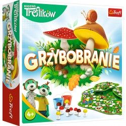 02035 TREFL GRA GRZYBOBRANIE RODZINA TREFLIKÓW