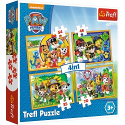 34307 TREFL PUZZLE 4W1 PSI PATROL