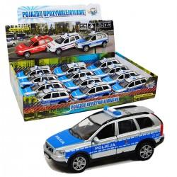 02686 AUTO VOLVO POLICJA DŹWIĘK