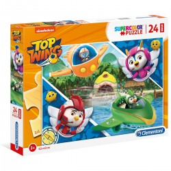 285143 CLEMENTONI PUZZLE MAXI 24 EL TOP WINGS